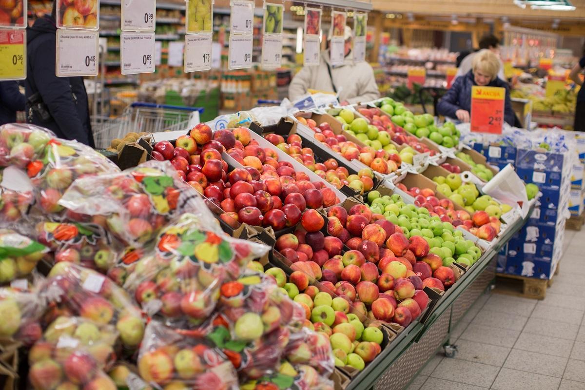 obuolių prekybos sistema