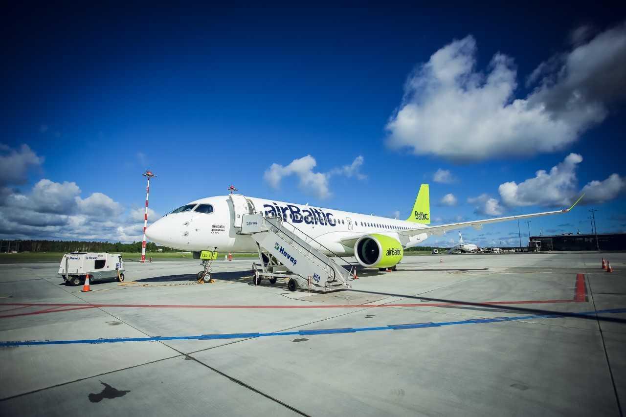 """""""airBaltic stiprina susisiekimą su Vilniaus oro uostu"""