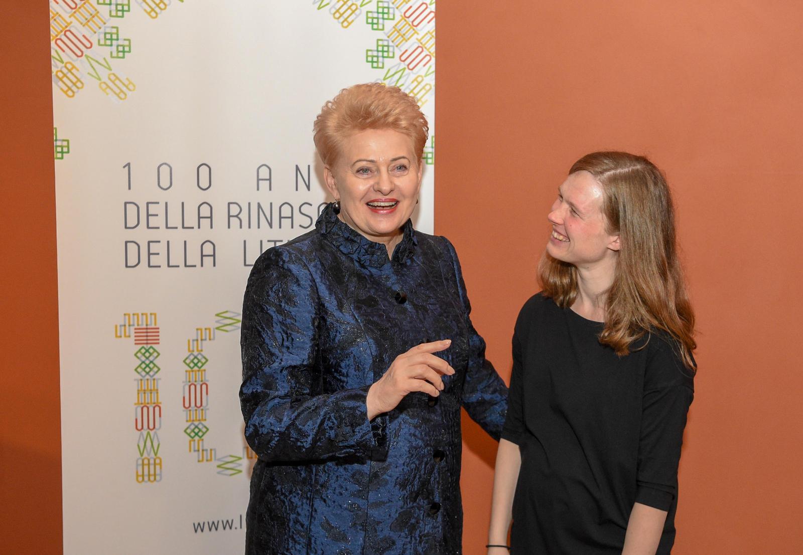 Lietuvos Respublikos Prezidentas atidarė Romoje Lietuvos