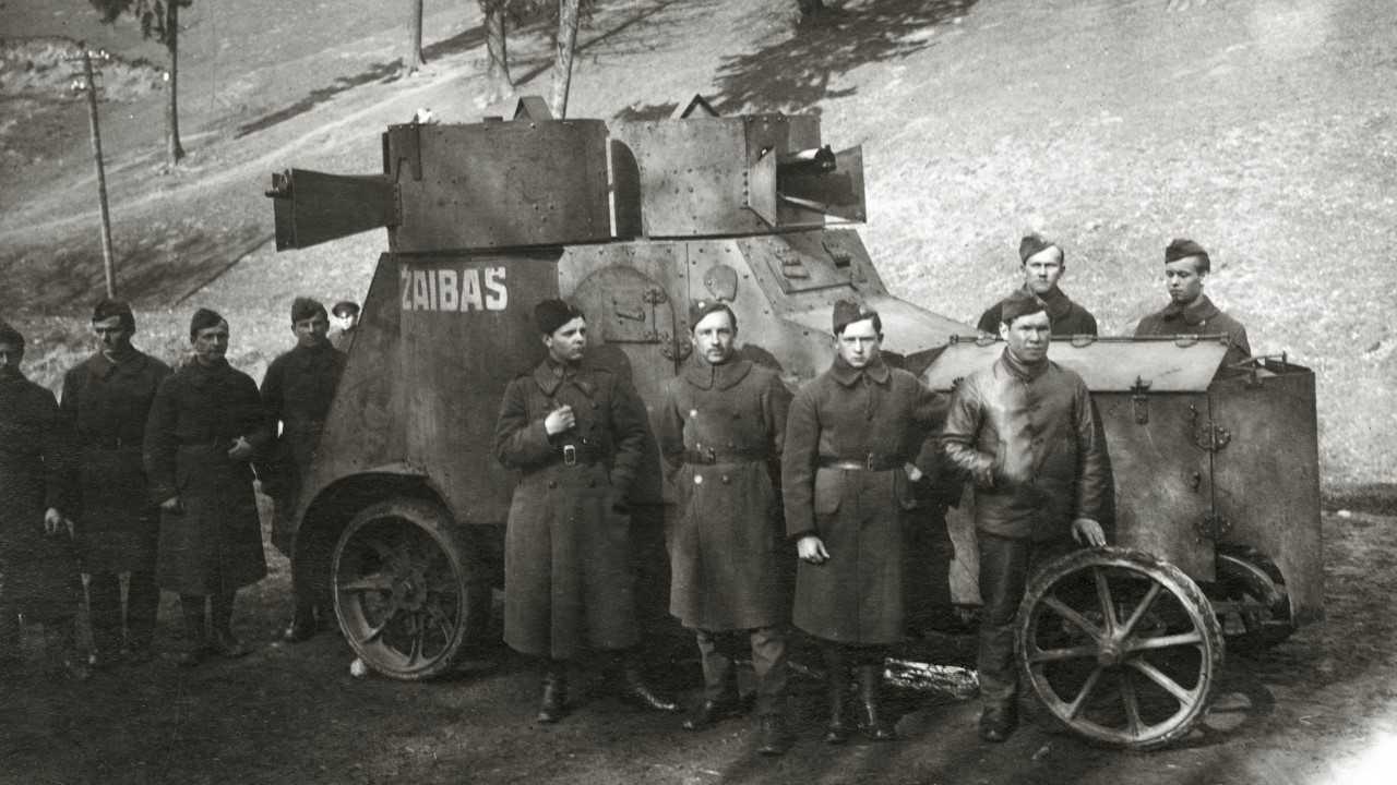 Tarpukario Lietuvos kariuomenė...