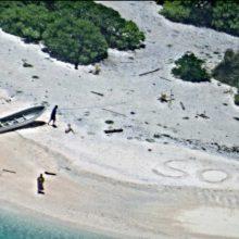 Negyvenamoje saloje įstrigusius jūrininkus išgelbėjo SOS ženklas