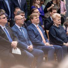 Nyderlandų karalius Kaune pagerbė savo tautietį
