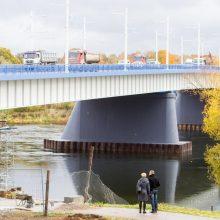 Prieš Panemunės tilto atidarymą – sunkus išbandymas