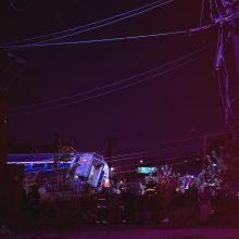 JAV: traukinio avarija netoli Filadelfijos