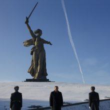 Rusija mini pergalės Stalingrado mūšyje 75-ąsias metines