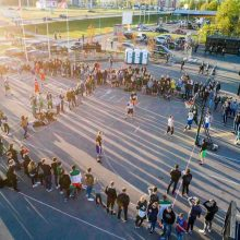 """""""Naktinis krepšinis"""" laukia keliolikos tūkstančių lankytojų"""
