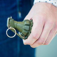 Per kratą vyro bute rasta kovinė granata