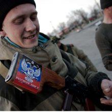 Ukrainoje sulaikytas Donecko separatistų referendumo organizatorius