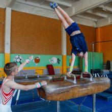 """Sporto centro """"Viesulas"""" gimnastikos salė"""