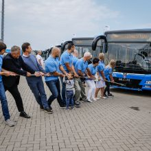 Į Klaipėdos gatves išriedės 18 naujų ekologiškų autobusų