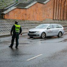Policijos reidas Klaipėdoje: įkliuvo neblaivūs ir be vairuotojo pažymėjimų