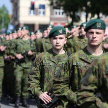 Dragūnų batalione nauji šauktiniai