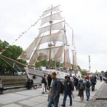 Uostamiesčio Laivų parade – pramogų vajus