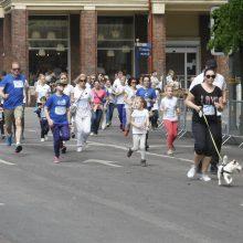 """""""Vilties bėgime"""" – apie 10 tūkstančių bėgikų"""