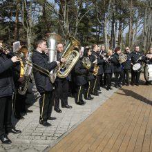 Palangoje – orkestrų muzika, žygis ir narystės NATO minėjimas