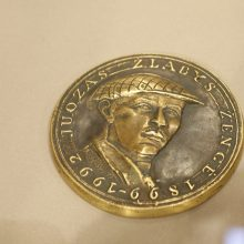 Lietuvos istorija – kūrėjo medaliuose