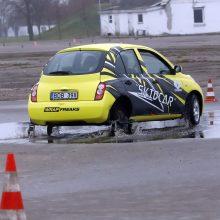 Neįprastas automobilis padeda kauniečiams mokytis nepaslysti kelyje