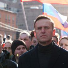 A. Navalnas nominuotas Nobelio taikos premijai