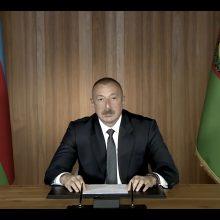 Azerbaidžano prezidentas žada sugrąžinti Kalnų Karabachą