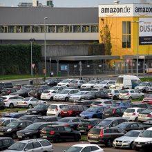 """""""Amazon"""" darbuotojai """"juodąjį penktadienį"""" surengs streiką"""