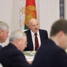 A. Lukašenka pakeitė Baltarusijos vidaus reikalų ministrą