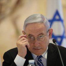 Izraelio parlamentas žengė dar vieną žingsnį naujų rinkimų link