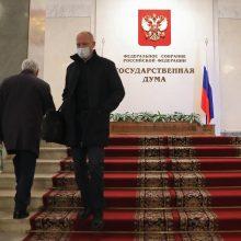 Rusijos parlamente – pirmoji COVID-19 auka