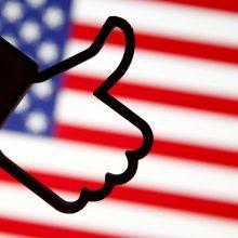 """""""Facebook"""" skatins amerikiečius balsuoti prezidento rinkimuose"""