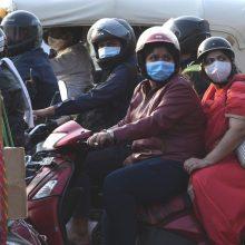 Indijoje patvirtinta jau daugiau kaip 9 mln. koronaviruso atvejų