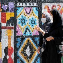 Irane fiksuojamas naujas mirčių nuo COVID-19 rekordas