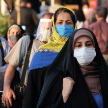 Irane nustatyta daugiausiai naujų COVID-19 atvejų nuo pandemijos pradžios
