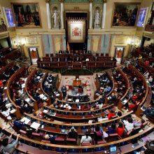Ispanijos parlamente inicijuojamas balsavimas dėl nepasitikėjimo vyriausybe