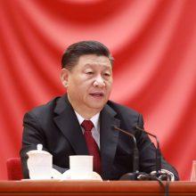 Kinijos prezidentas pasveikino J. Bideną su pergale JAV prezidento rinkimuose