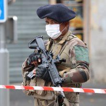 Prancūzijoje sulaikytas dar vienas ketinimu surengti išpuolį įtartas vyras