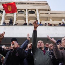 Kirgizijoje gruodį vyks pakartotiniai parlamento rinkimai