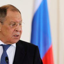 Rusijos diplomatijos vadovas izoliavosi
