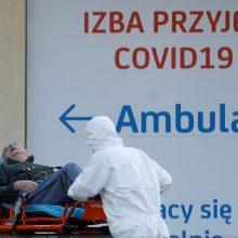 Lenkijos vyriausybė ketina atidaryti 8 tūkst. skiepijimo nuo koronaviruso punktų