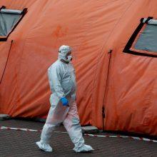 Lenkijoje – 13,2 tūkst. COVID-19 atvejų, mirė 531 pacientas