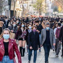 Kovai su pandemija ir ekonomikai remti pasaulyje jau išleista daugiau kaip 13 trln. dolerių