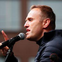 A. Navalnas žada grįžti į Rusiją