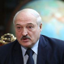 Minskas pasmerkė Ukrainos solidarumą su ES sankcijomis