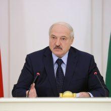 Sankcijos A. Lukašenkai ES žada po kelių dienų arba savaičių