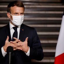 Prancūzija tikisi glaudžiau bendradarbiauti su Rusija kovoje prieš terorizmą