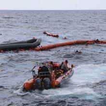 Prie Kanarų salų apvirtus migrantų laiveliui žuvo aštuoni žmonės