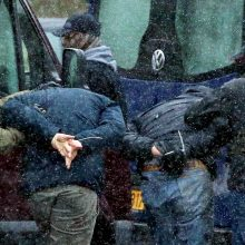 Baltarusijoje sekmadienį per protestus sulaikyta per 400 žmonių