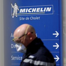 """""""Michelin"""" Prancūzijoje atleidžia apie dešimtadalį darbuotojų"""