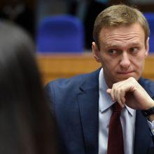 A. Navalno atsakymas V. Putinui: nepavyko mano gudrus planas mirti Omske