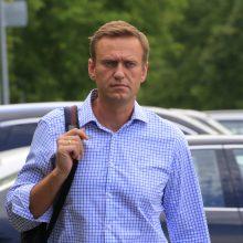 Antstoliai areštavo A. Navalno sąskaitas ir butą Rusijoje