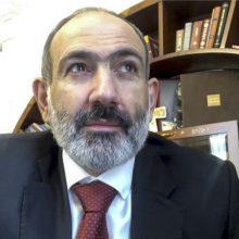 N. Pašinianas: dokumentas dėl Karabacho nėra galutinis klausimo sprendimas