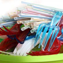 Vokietija galutinai uždraudžia vienkartinius plastikinius gaminius
